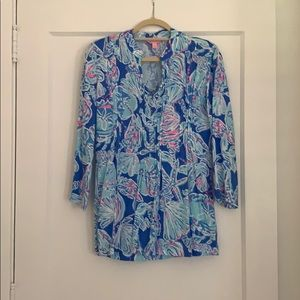 Lilly Pulitzer 100% Rayonne Blouse